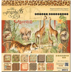 Papeles Scrapbooking Safari Adventure (30 x 30)