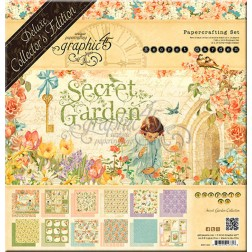Set Scrapbooking Deluxe Secret Garden (30x30)