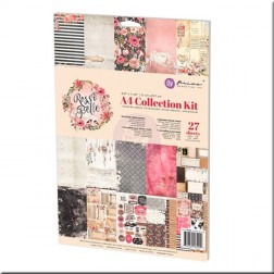 Kit Colección Scrapbooking Rossi Belle (A4)