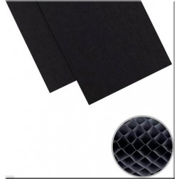 "DIY Party Honeycomb Pads (3""X8"") Black"