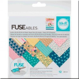Papeles plásticos para Photo Sleeve Fuse (15,2x15,2)
