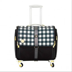 Maleta 360º Crafter's Bag - Plaid Black