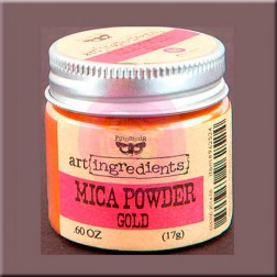 Mica Powder Gold (17g) Finnabair art ingredients