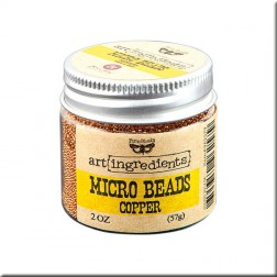 Micro Beads Copper (57g) Finnabair art ingredients