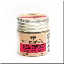 Mica Powder Peach Opal Magic (17g) Finnabair art ingredients