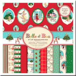 Papeles Scrapbooking - Belle and Boo Christmas (20 x 20)