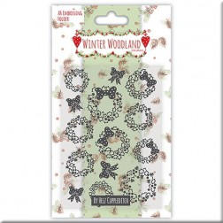Carpeta embossing - Winter Woodland
