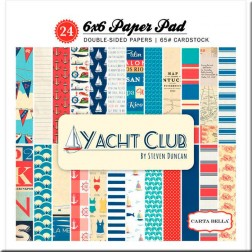 Papeles Scrapbooking Yacht Club (15x15)