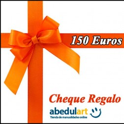 Cheque regalo 150 Euros