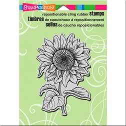 Sello Sweet Sunflower Stampendous