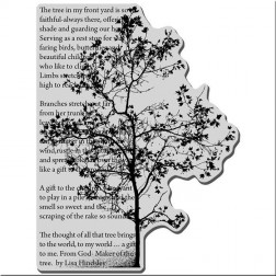 Sello Tree Poem Stampendous