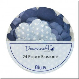 Flores de papel Blue - Dovecraft