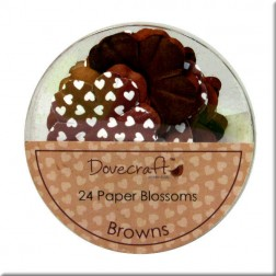 Flores de papel Browns - Dovecraft