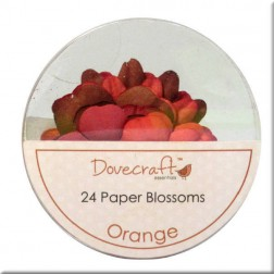 Flores de papel Orange - Dovecraft