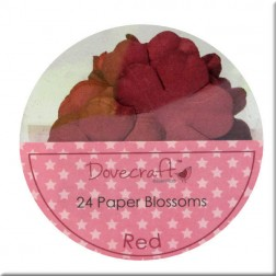 Flores de papel Red - Dovecraft