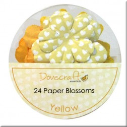 Flores de papel Yellow - Dovecraft