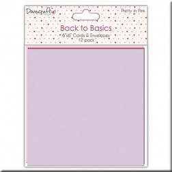 Tarjetas y Sobres - Back to Basic Pretty in Pink