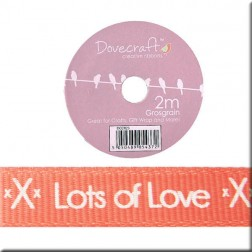 Cinta de Grosgrain Coral Lost of Love - Bohemian