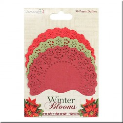 Tapetes de papel Winter Blooms