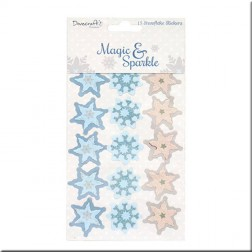 Snowflakes Adhesivos 3D Magic & Sparkle