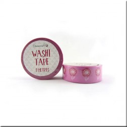 Washi Tape Rosa Flores