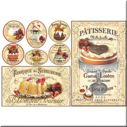 Papel de Arroz - Patisserie