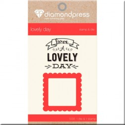 Set Troquel y Sello Lovely Day Diamond Press