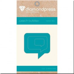 Troqueles Speech Bubbles Diamond Press