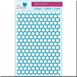 Carpeta Embossing A4 - Honeycomb Patchwork