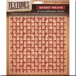 Carpeta Embossing - Basket Weave
