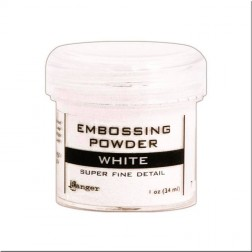Polvo Embossing Super Fino - White