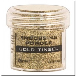 Polvo Embossing - Gold Tinsel