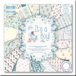 Papeles Scrapbooking - It's a Boy! (15 x 15)