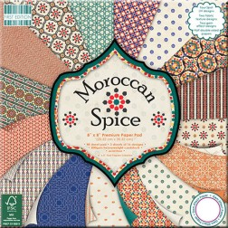 Papel Scrapbooking - Moroccan Spice (20 x 20)