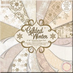 Papeles Scrapbooking - Gilded Winter (20 x 20)