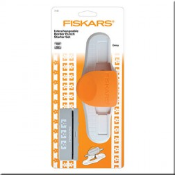 Set Inicio Perforadora Bordes Intercambiable Fiskars - Daisy
