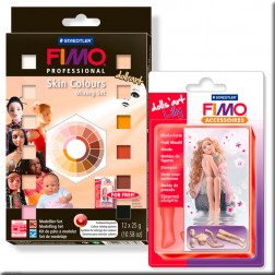 Fimo Professional - Kit 12 Pastillas Doll Art (25 grs)