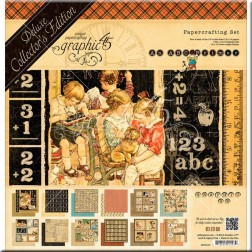 Set Scrapbooking Deluxe An ABC Primer (30x30)