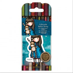 Set Mini Sello y Tarjeta Gorjuss Hush Little Bunny