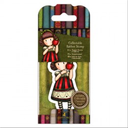 Set Mini Sello y Tarjeta Gorjuss Dear Apple