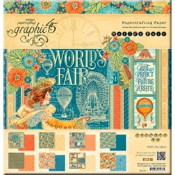 Papeles Scrapbooking - World's Fair (30 x 30)