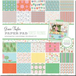 Papeles Scrapbooking Forest Friends (30x30) Grace Taylor