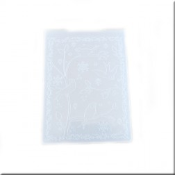 Carpeta Embossing Bosque Invernal