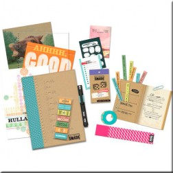 Kit Scrapbooking - SMASH Azul