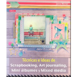 Libro Manualidades Técnicas e Ideas de Scrapbooking Art Journaling