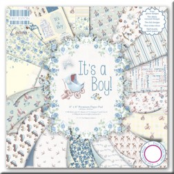 Papeles Scrapbooking - It´s a Boy (20x20)