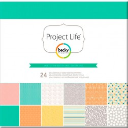 Papeles Scrapbooking Jade Edition (30,2x30,5) - Project Life