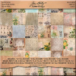 Papeles Scrapbooking - Wallflower (30x30)