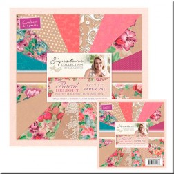 Pack Papeles Floral Delight (30x30 y 15x15)