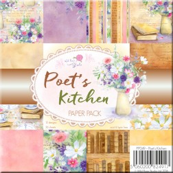 Papeles Scrapbooking Poet's Kitchen (15x15)